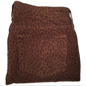 NYDJ Jeans - NYDJ Premium Denim Marilyn Straight Leopard Print